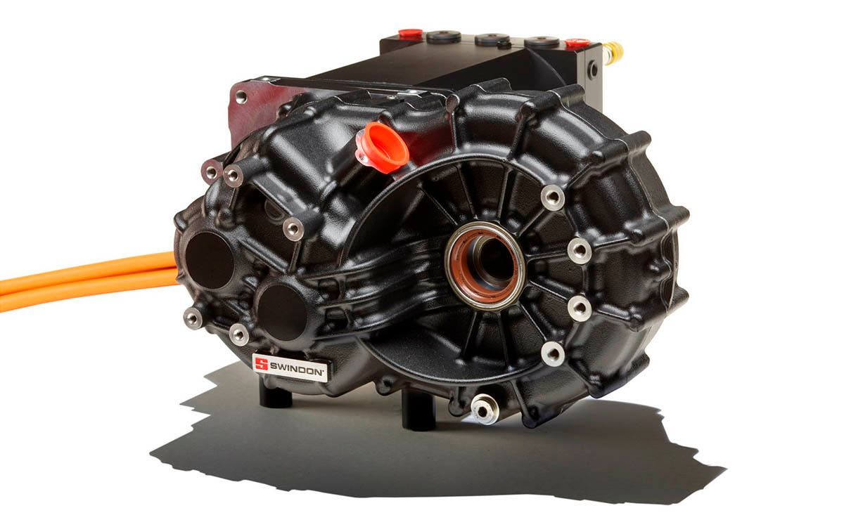 New propulsion system for electric vehicles: motor, inverter and transmission