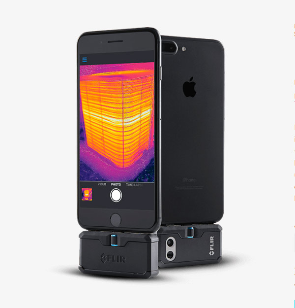 The professional thermographic smartphone module -FLIR-ONE-Pro