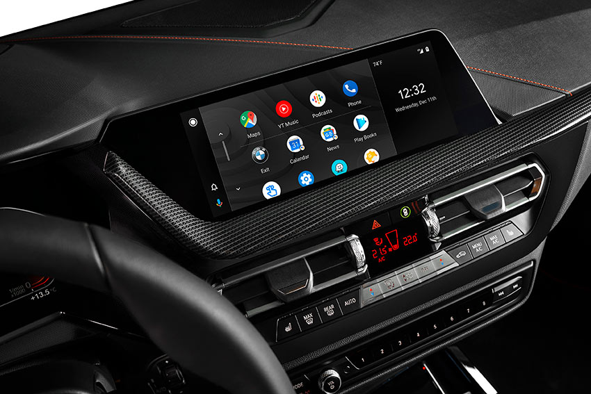 Android Auto comes to BMW. BMW to offer wireless integration from mid-2020.