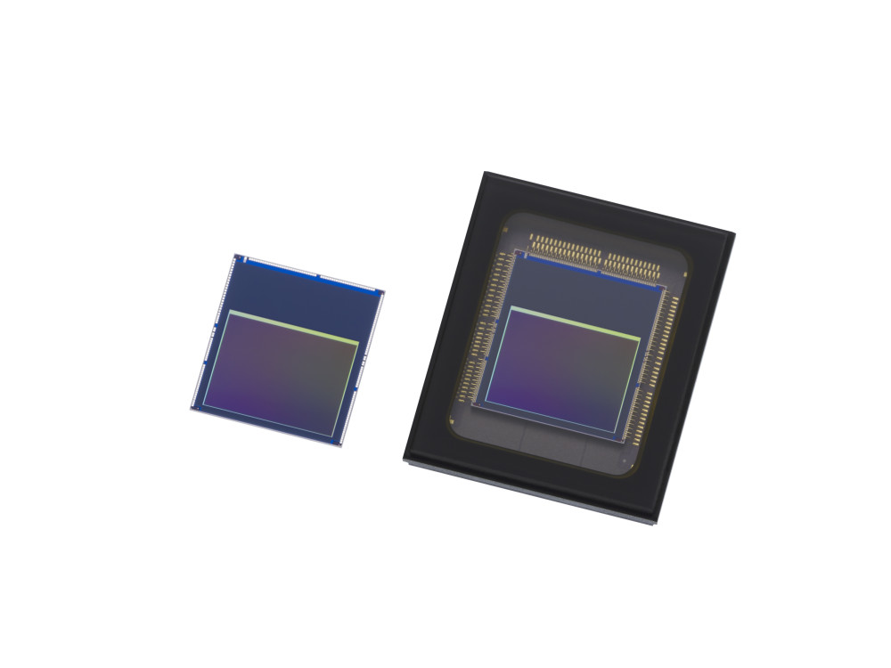Sony's Intelligent Vision Sensors IMX500 (left) and IMX501 (right)