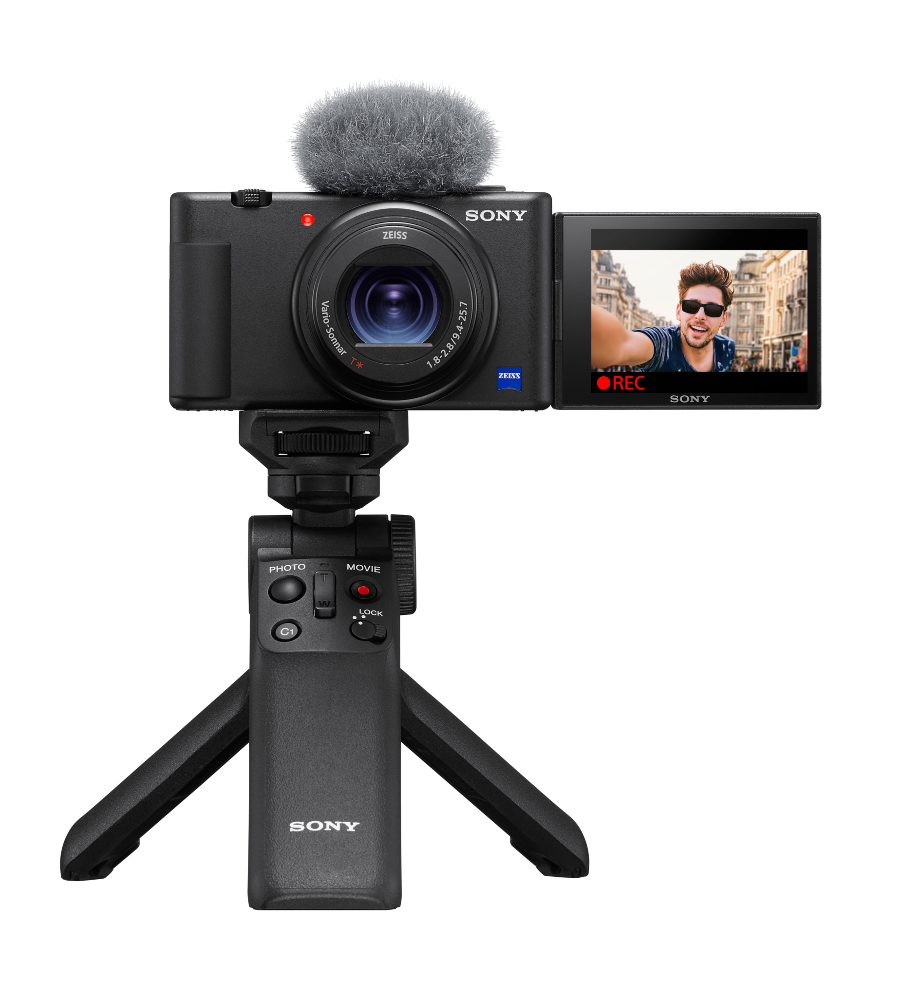 SONY ZV-1 compact camera for video blogging