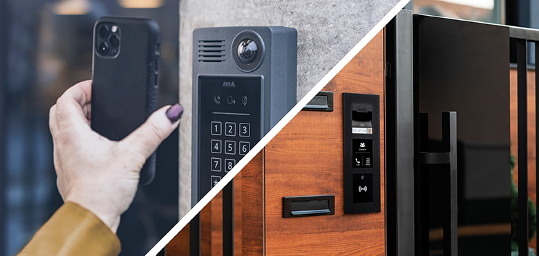 AXIS COMMUNICATION – How IP intercoms can enhance video surveillance systems