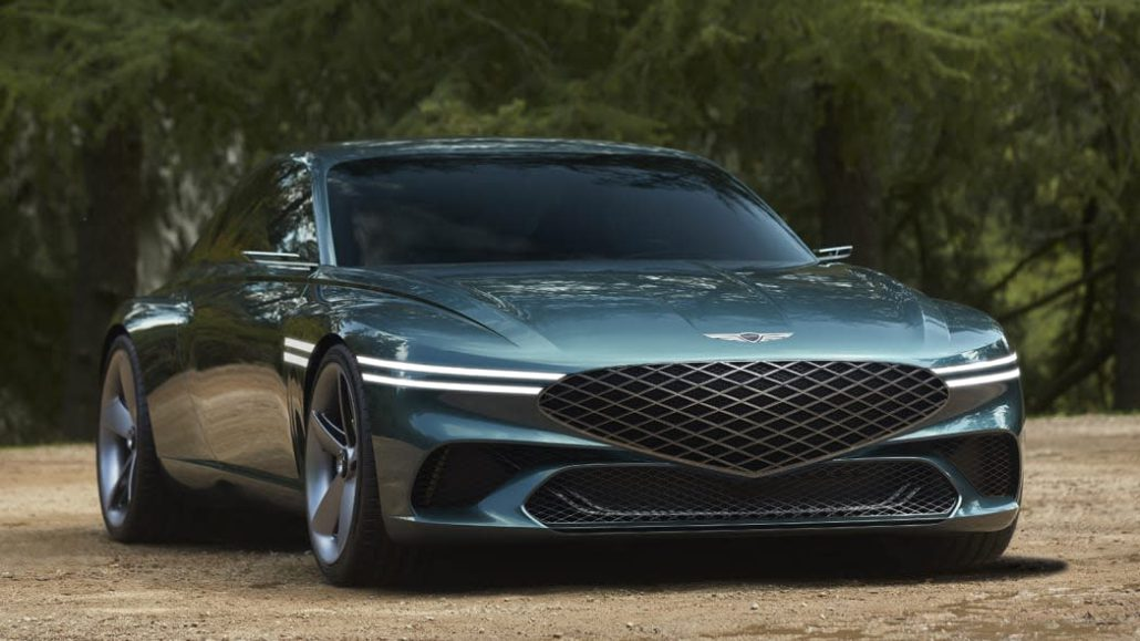 Genesis X Concept presents sustainable luxury of GENESIS in the form of an EV-based high-performance GT coupe concept car