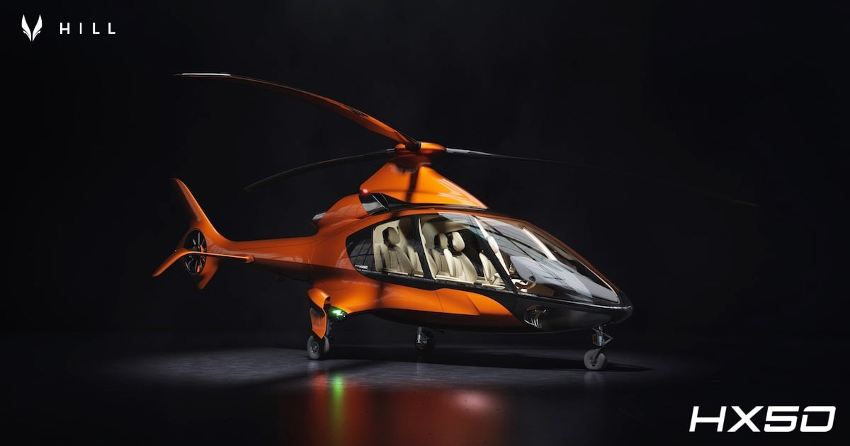 Hill Helicopters – CONCEPT HX50