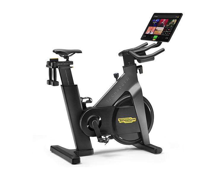 Technogym Bike: online workouts and unlimited access to entertainment